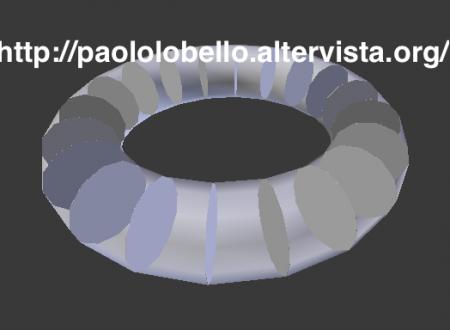 Analisi della mesh orientata all'animazione con Blender
